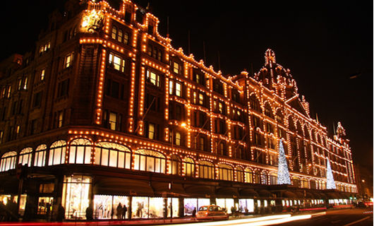 Kerstshoppen in London